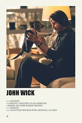 John Wick > Keanu Reaves >  Mini Movie Poster Print
