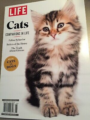 Cats Life Magazine Special Edition 2019 Companions in Life + Cats VS dogs New!
