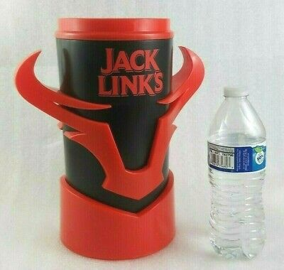 Jack Links Beef Jerky Large Ice Bucket Display Canister Bottle Pop Can Holder