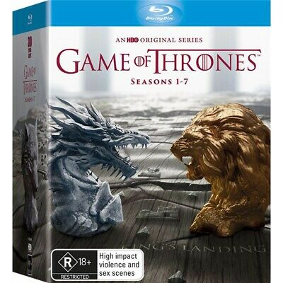Game of Thrones Complete Seasons 1-7 Blu-ray Collection 30-Disc Box Set NEW