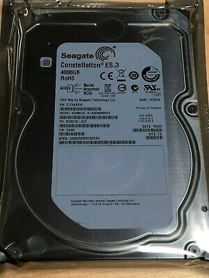 "HUS724040ALS640 HGST 4TB 7200RPM SAS 3.5""  Hard Drive 512N Enterprise Server"