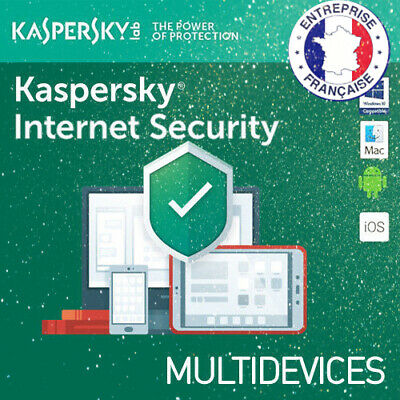 Kaspersky Internet Security 2019 1 Appareils PC MAC android FRANCE EMAIL SEND 1a
