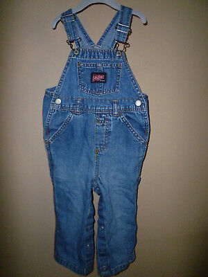 **OLD NAVY** Baby Boy's Denim Overalls size ((18-24 Mos)) 100% Cotton