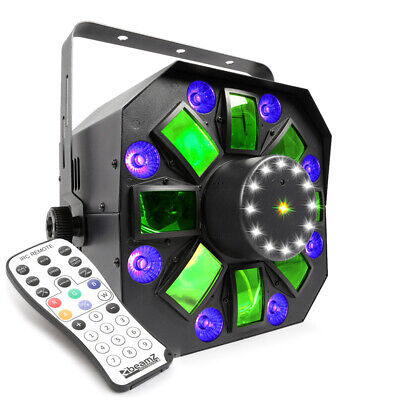 BeamZ 153.671 MultiAcis IV LED with laser and strobe