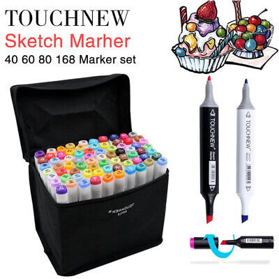 Marker 30 Color Dual Tip Brush Markers Pens Art Paint Calligraphy Watercolor ink