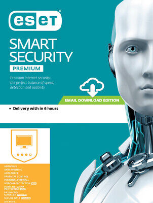Eset Smart Security Premium V12 2019 - 2 Year / 3 PC Key Global