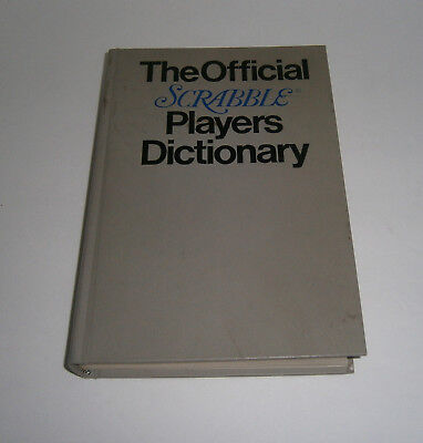 The Official Scrabble Players Dictionary by Selchow Righter Company Hardcover