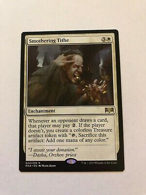 Magic the gathering - Smothering Tithe (Ravnica Allegiance, Rare), NM
