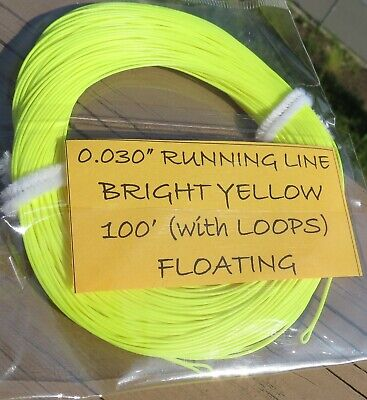 "0.030"" Running Line 25lb core ideal for heads 400gr-575gr (spey skagit opst)"