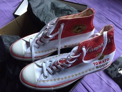 CONVERSE CHUCKS ANDY Warhol Sonderedition Campbell's Tomato