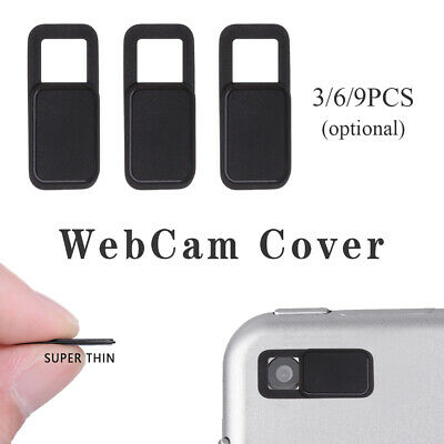 9Pcs Universal WebCam Cover Shutter Magnet Slider Camera Cover for Phone Laptops