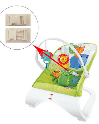 1 White Harness Seat Clip for Fisher-Price Kid Baby Rocker Bouncer Swing Sleeper