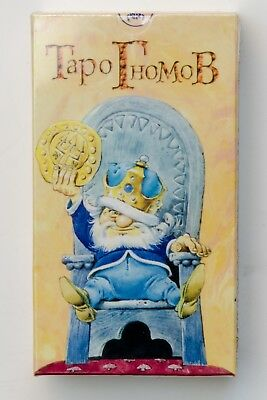 Tarot of the Gnomes Oracle 78 Cards Deck +short manual in Russian Таро Гномов