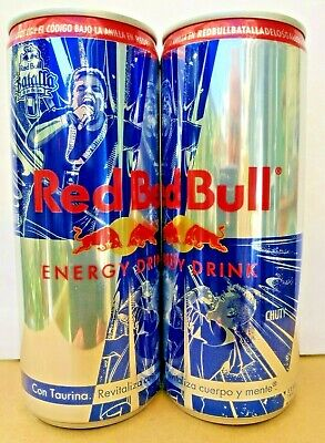 Redbull.Batalla de los Gallos.Full Can,Canette Pleine,Vo Dosen.Battle of Rooster