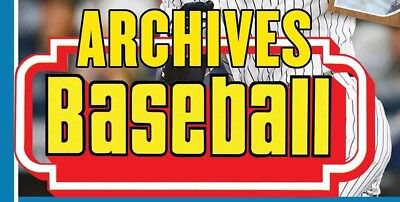 2016 Topps Archives Singles - You select your favorites
