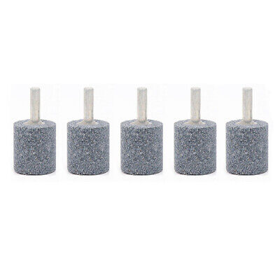 5pcs 25mm Rotary Grinding Mounted Stone Abrasive Wheel 6mm Shank For Drill Metal