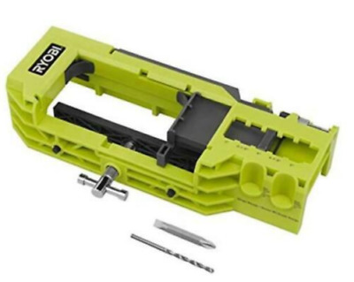 Door Hinge Router Template Installation Kit Mortiser Jig Clamp Imperial Bits