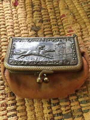 Very Old Antique Coin Pouch