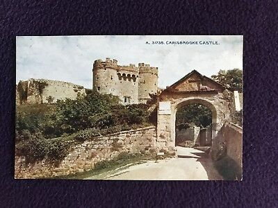 Early To Mid 20th Century UK POSTCARD - CARISBROOKE CASTLE, ISLE OF WIGHT