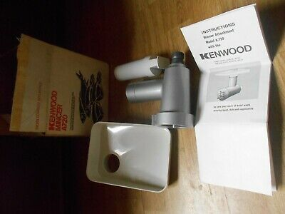 Kenwood Chef Mincer A720 (fits A702, A701 & A701a) Never been used. Just stored.