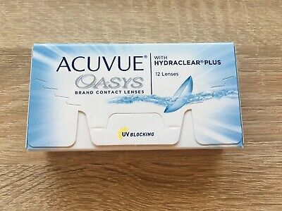 Acuvue Oasys Hydraclear Plus 1x12 Linsen, D: -2.75, BC: 8.4, DIA 14.0