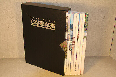 GARBAGE MAGAZINE CHARTER SET Journal for the Environment 8 Magazines & Slipcase