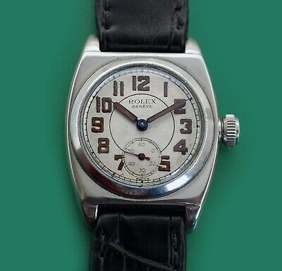 Original Dial! Super rare ROLEX Early VICEROY 1573 Vintage 1930's Oyster Watch