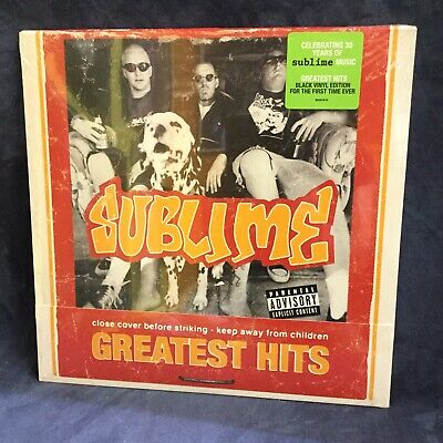 Greatest Hits LP + flexi by Sublime Black Vinyl RSD Brand New Sealed