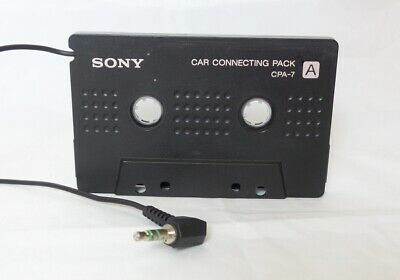 Sony Car Stereo Cassette Adaptor for all iPod/MP3/CD/MD/Walkman Players (CPA-7)