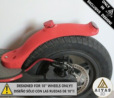 "GUARDABARROS CORTO DUCKTAIL (RUEDAS 10"") - ¡EXCLUSIVO! Xiaomi M365/M187/PRO 3D"