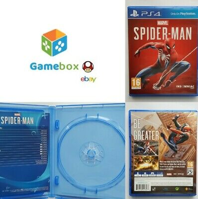 Marvel Spider-man (PS4) Official BOX ONLY