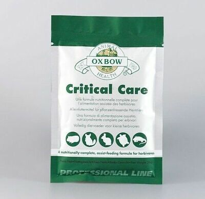 Oxbow - Individual 36g Critical Care Premium Recovery Food Sachet Free Syringe