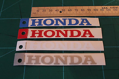 Honda Motorcycle graphics stickers decals x 2PCS SMALL