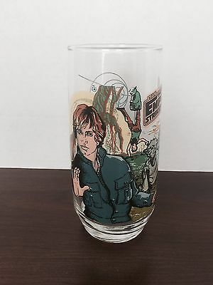 Luke Skywalker ~ Star Wars 1980 Empire Strikes Back Burger King Glass