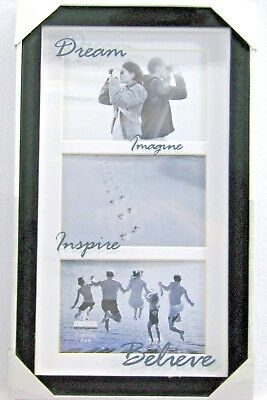 Picture Frame Malden Dream Imagine Inspire Believe 3 4 x 6 Opening Collage