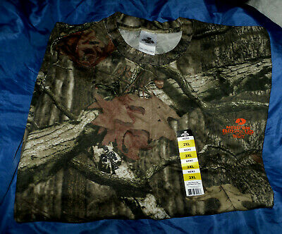 bd7fc03e Mossy Oak Camo Break-Up Short Sleeve T- Shirt NWT Men's SZ 2XL Hunting
