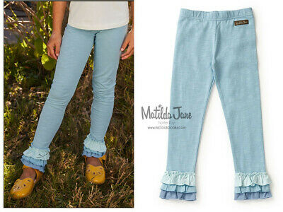 (B0303) NEW Matilda Jane Just A Believer Leggings size 2/4/6/8/10/12/14
