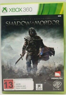 Middle Earth: Shadow Of Mordor (Microsoft Xbox 360) Brand New & Sealed
