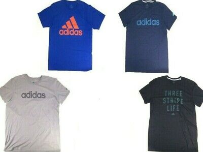 ADIDAS Mens Climalite Performance Short Sleeve T-Shirt NWT  Small   Large or 2XL