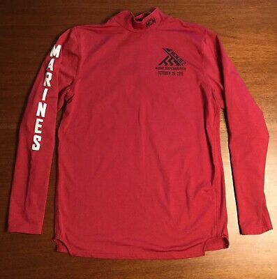 Official 2015 Marine Corps Marathon Shirt MEDIUM MCM 26.2