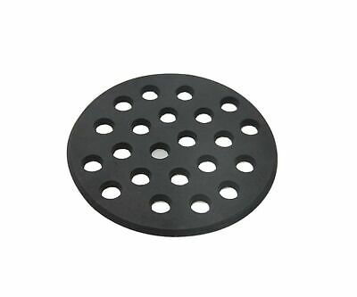 Dracarys Round cast Iron Bottom fire Grate for Big Green Egg, BBQ high Heat C...