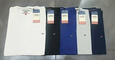 Tommy Hilfiger Mens Short Sleeve Crew Neck T Shirt 100% Cotton, Other Brands