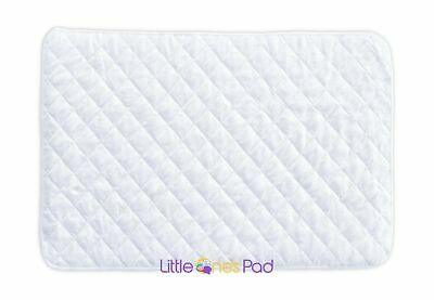 """Little One's Pad Pack N Play Crib Mattress Cover - 27"""" X 39"""" - Fits Most Baby..."""