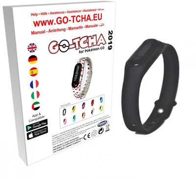 Go-Tcha 2019 LED-Touch-Armband Black Edition für Pokémon Go Alternative