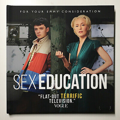 SEX EDUCATION Season 1 (6 Eps.) Netflix 2019 Emmy FYC DVD Gillian Anderson NEW!