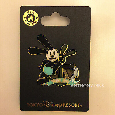 Disney Pins Tokyo THE LUCKY RABBIT OSWALD Pin TDR TDL Japan Resort Exclusive New