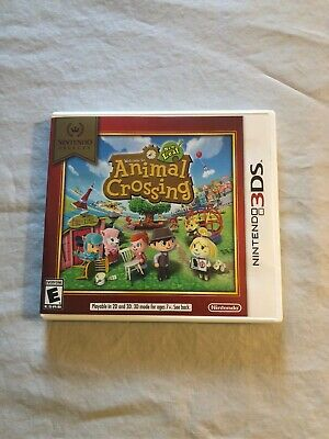 Animal Crossing: New Leaf Nintendo Selects (Nintendo 3DS, 2016)
