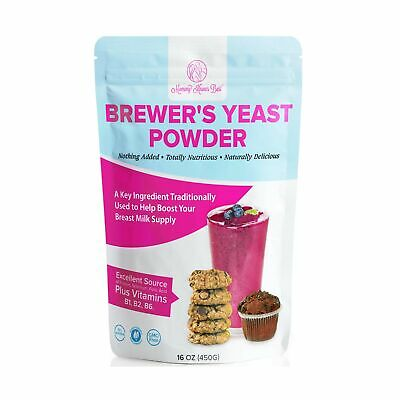 Brewers Yeast Powder for Lactation - Mommy Knows Best Brewer's Yeast for Brea...