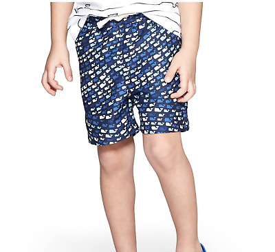 bf469d2c17 Vineyard Vines for Target, Toddler Boys' School of Whales Swim Trunks - Blue  5T
