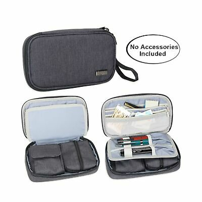 Luxja Diabetic Supplies Travel Case, Storage Bag for Glucose Meter and Other ...